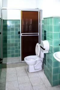 Ванная комната в Hotel Farallones Cali