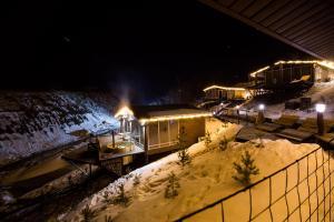 Отель Камский Трофей зимой