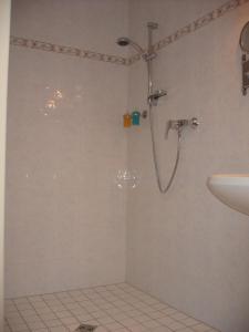 Ein Badezimmer in der Unterkunft Ferienwohnung Haus Datz in Berchtesgaden