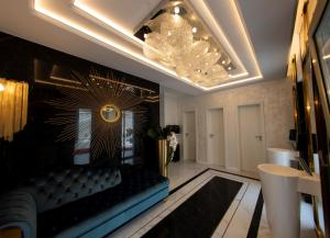 The lobby or reception area at GALLA Residence
