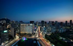 A bird's-eye view of THE PLAZA Seoul, Autograph Collection