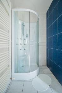 Kúpeľňa v ubytovaní Penzión Exclusive