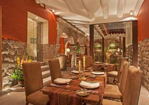 A restaurant or other place to eat at Inkaterra La Casona Relais & Chateaux