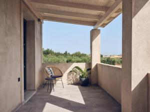A balcony or terrace at Casa di Pierro