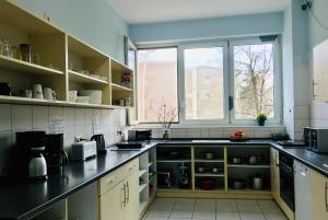 Una cocina o zona de cocina en Hostel Inn-Berlin