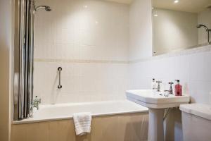 A bathroom at The Bay Tree Hotel
