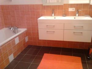 A bathroom at Gîte de la Grande Rue