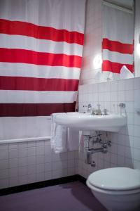 A bathroom at Hotel Loge