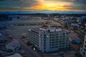 Hotel Swiss Star с высоты птичьего полета