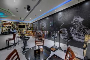 Un restaurant sau alt loc unde se poate mânca la Donatello Hotel