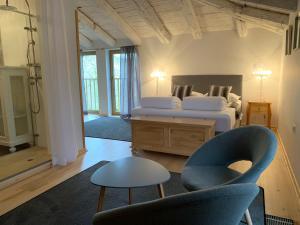 Кровать или кровати в номере Residence Apolonija Guest House