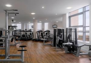 The fitness centre and/or fitness facilities at Radisson Blu Hotel, Liverpool