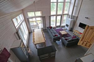 A seating area at Tallusniemi Villas