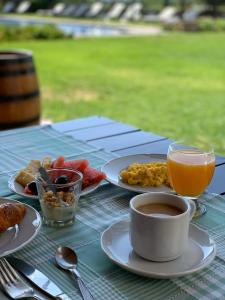 Breakfast options available to guests at Patios De Cafayate