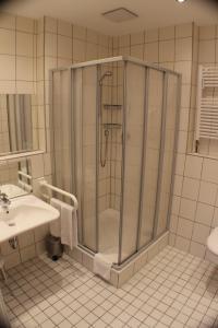 Ein Badezimmer in der Unterkunft Avantgarde Hotel
