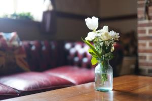 A seating area at Horton Inn