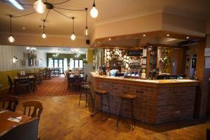 The lounge or bar area at Horton Inn