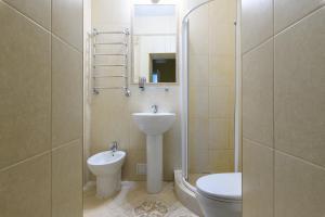 Ванная комната в RentalSPb 4 Studio Antonenko
