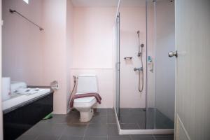 Ein Badezimmer in der Unterkunft Xanadu Beach Resort