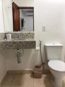 Um banheiro em Hotel Colorado