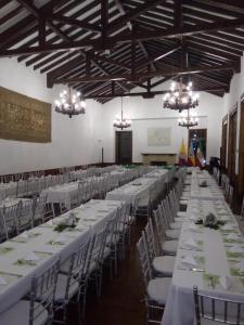 A restaurant or other place to eat at Hotel Boutique El Libertador