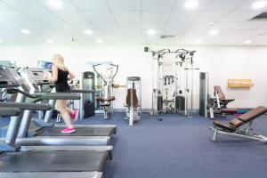 The fitness center and/or fitness facilities at Holiday Inn Gloucester / Cheltenham, an IHG Hotel