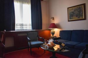 Гостиная зона в Palace Hotel
