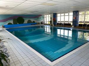 The swimming pool at or near Hotel Lugsteinhof