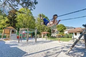 Children's play area at Alpenhotel Speckbacher Hof