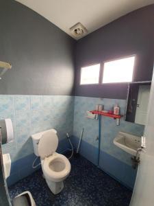 Een badkamer bij Doi Doo Dao Home Hostel