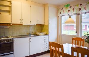 Ett kök eller pentry på 0-Bedroom Apartment in Ramkvilla