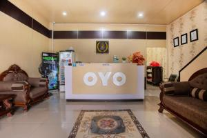 The lobby or reception area at OYO 2971 W&w Executive Hotel