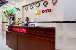 The lobby or reception area at OYO 556 KASA Hotel