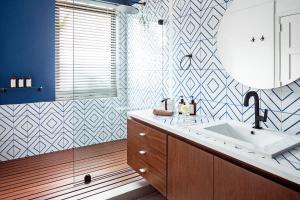 A bathroom at Casa Legado