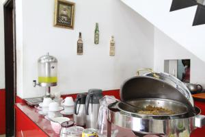 A kitchen or kitchenette at Istanaku Guesthouse