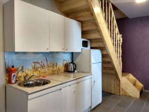 Кухня или мини-кухня в Парк-Отель Риверсайд