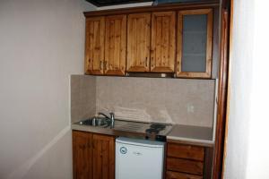 Η κουζίνα ή μικρή κουζίνα στο Xenonas 1963