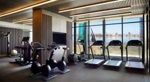 The fitness center and/or fitness facilities at The Ritz-Carlton, Perth