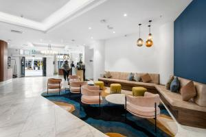 The lobby or reception area at Airedale Boutique Suites