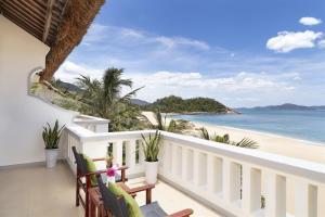 A balcony or terrace at Avani Quy Nhon Resort