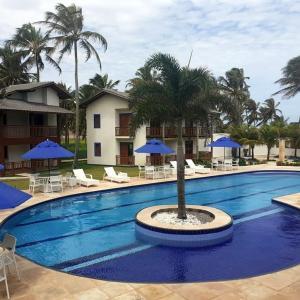 A piscina localizada em Beach Wind Hotel ou nos arredores