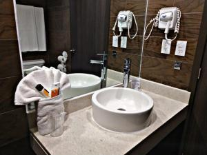 A bathroom at Hotel Catedral
