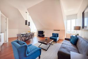 Zona de estar de Lisbon Five Stars Apartments 8 Building