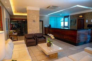 The lobby or reception area at Grande Hotel da Barra
