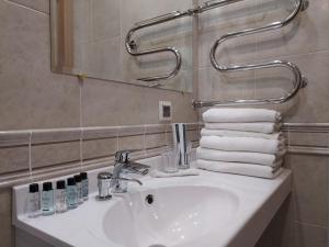 A bathroom at Gostevaya Izba Na Istre