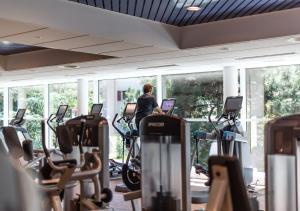 Salle ou équipements de sports de l'établissement Hotel des Bains de Saillon