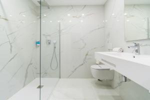 A bathroom at Los Arcos