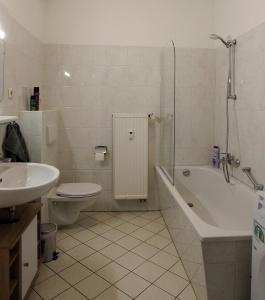 A bathroom at Ferienwohnung MKopp 4