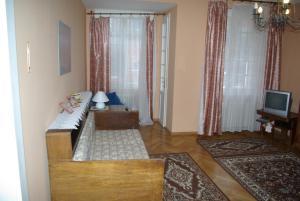Posezení v ubytování 7k - Apartmán Zámecký Vrch