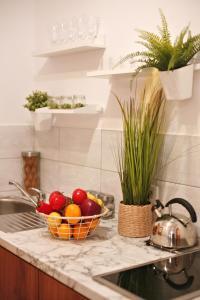 A kitchen or kitchenette at Willa Przy Skoczni